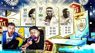 FIFA 20:PRIME ICON MOMENTs + WinterRefresh PACK OPENING + WL ENDSPURT !!