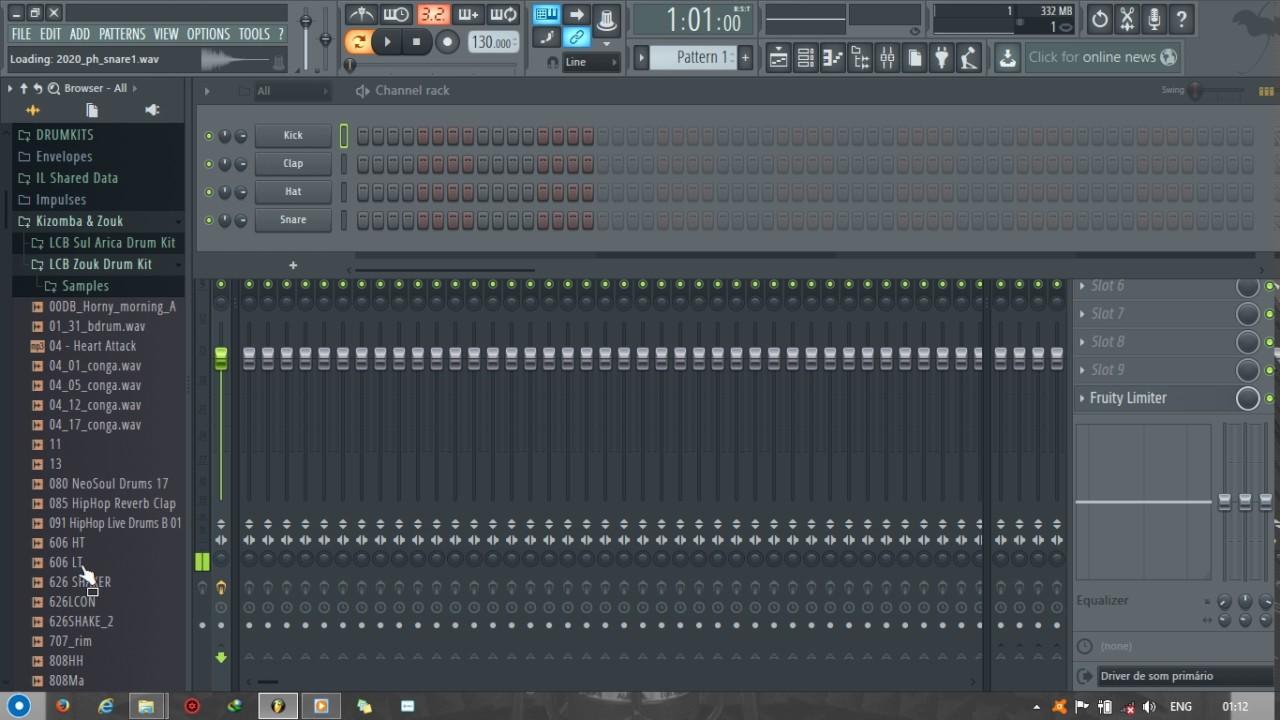 Kizomba & Zouk Drumkit (free download) by Props Musik