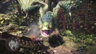 Monster Hunter World | From bad to worse (High Rank Pukei Pukei)