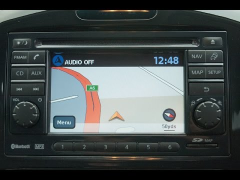 how to set the sat nav on a nissan connect system in a. Black Bedroom Furniture Sets. Home Design Ideas