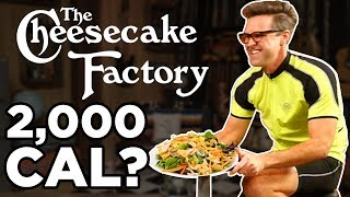 Cheesecake Factory Calorie Challenge