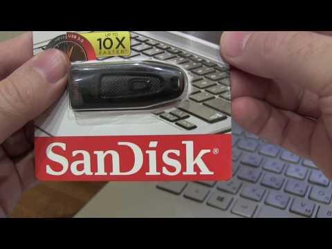 USB флешка Sandisk Ultra 64Gb USB 3.0 (100/30 Mb/s) Код товара: 171837