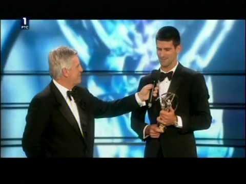 Novak Djokovic The Best Sportsman Of The World 2011