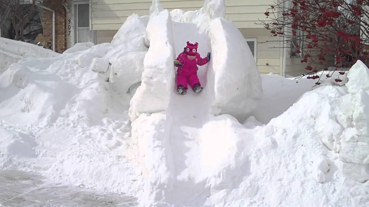 snow slide youtube