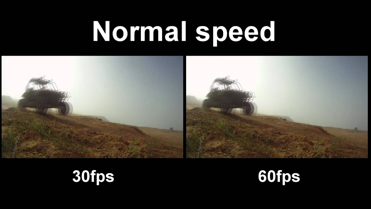 GoPro HD Hero 30fps vs. 60fps - YouTube