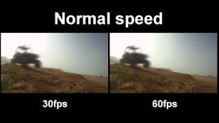 GoPro HD Hero 30fps Vs. 60fps