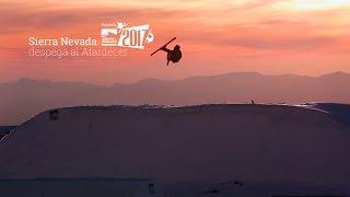 Sierra Nevada 2017 despega sobre el atardecer de Granada