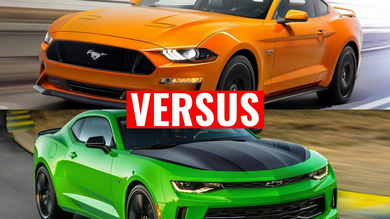 2018 ford mustang vs chevy camaro