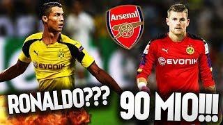 RONALDO ZUM BVB!?!😱 TIMO HORN WECHSELT FÜR 90 MIO € FIFA 17 KARRIEREMODUS BVB #22 PMTV