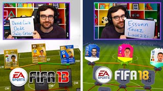 Squad Builder Showdown BUT Each Section You Switch Fifas