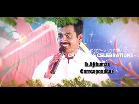 Mr.I.P. Senthil Kumar  Celebrate christmas In Gilgal School 2016