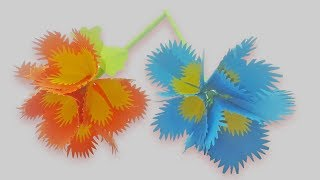 How to Make Small Rose beautiful Flower with Paper Making Paper Flowers Step by Step