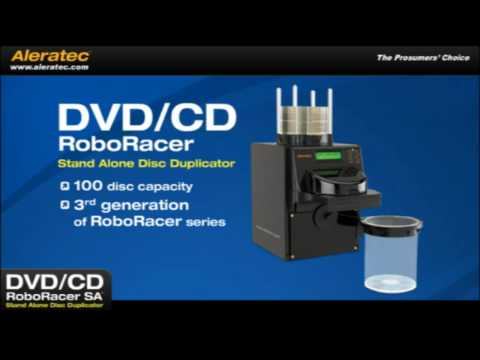 Aleratec DVD CD RoboRacer SA 280112 Stand Alone DVD CD ...