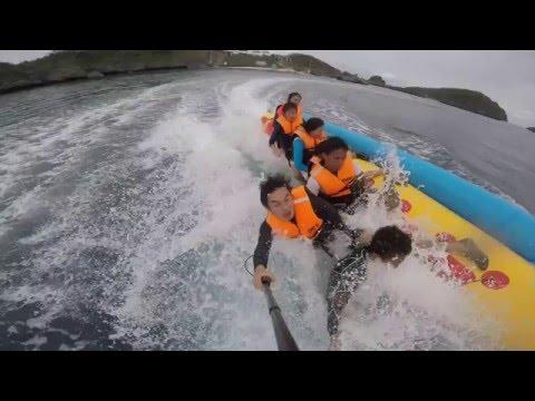 Hundred Islands: Banana-Boatin'