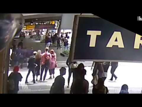 CCTV of Bourke Street rampage (Courtesy of The Herald Sun)
