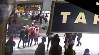 CCTV of Bourke Street rampage (Courtesy of The Herald Sun)
