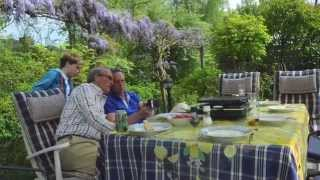 Family Outdoor Grill Plate Meal 2014