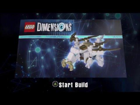 LEGO Dimensions 71234 Sensei Wu Flying White Dragon Build ...