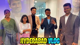 😱Hyderabad Funny Vlog | Making Video | Tamil Casters 1St Time In Big Screen | Gaming Tamizhan