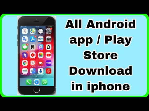 Play Store In Iphone 7| How To Install Android App In Ios | Play Store Download Iphone 7