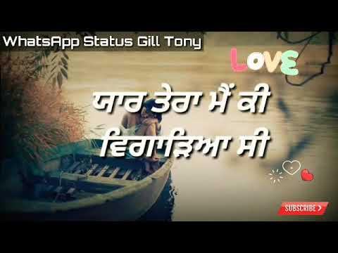 Love You And Miss You Punjabi Shayari    Best Punjabi  Love Quotes For Lover    New Lyrics Video