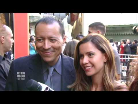 Yancey Arias and Anna Carolina Alvim  at Los Angeles  Latino International Film Festival