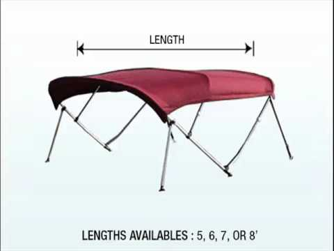 top awning products replacement tops fishing bimini runabout marine dowco for boats pontoon