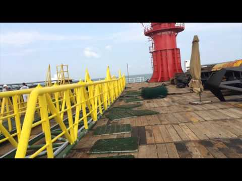 PTSC Offshore 01 - 300 Pax Accommodation Crane Work Barge