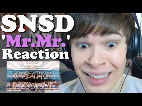 Girls' Generation 소녀시대_'Mr.Mr.'_MV | REACTION