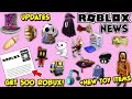 ROBLOX NEWS: GET 500 ROBUX FROM VERIZON, LIMITED HAT UPDATE & NEW TOY CODE ITEMS