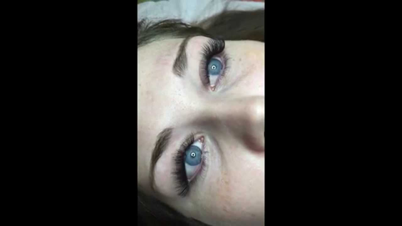 Russian Volume Eyelash Extensions Blink By Siggy Sunshine 2 Youtube