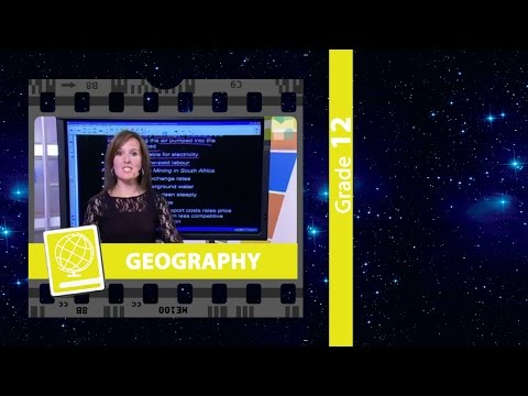 Economic Geography: Agriculture & Mining