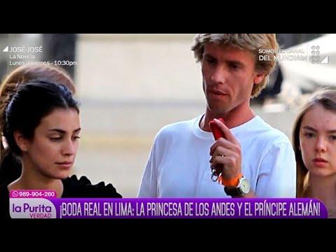 Boda real en Lima: la príncesa de los Andes y el príncipe alemán