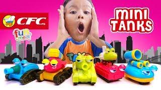 Hadiah Mainan Terbaru CFC Fun Meal Mini Tanks Bagus Seperti Hadiah Happy Meal McD Dan Kids Meal KFC