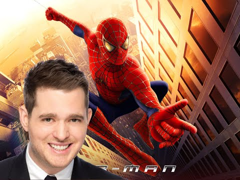 Here Comes the Spider Man - Spider-Man Theme (Michael Bublé) lyrics Video