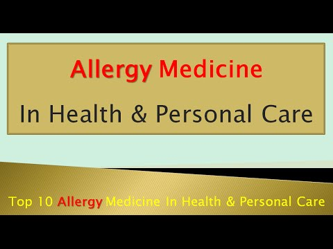 Top 10 Allergy Medicine In Health & Personal Care | Allergy Treatment