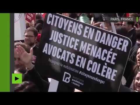 «On veut des juges, pas des robots» : les avocats réunis à Paris contre la réforme de la justice