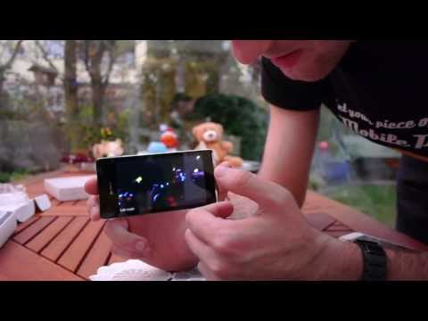 Sony XPeria V Unboxing and Comparison