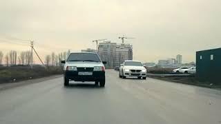 Прикол.БМВ vs ВАЗ