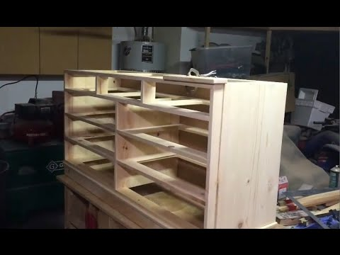 Diy Dresser Plans Step By Step Instructions Youtube