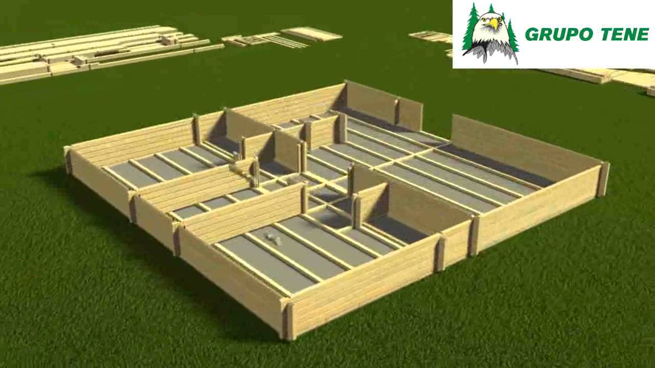 Ensamblaje de casas de madera en huesca teruel y zaragoza - Casas de madera zaragoza ...