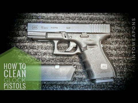 Glock Pistols: How To Disassemble & Clean (G19 Gen 4)