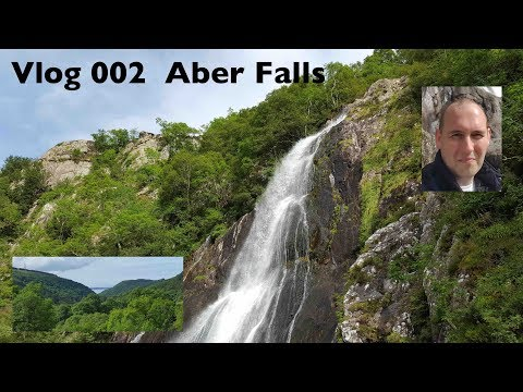 The Worlds most beautiful Water Falls - Aber Falls, Abergwyngregyn, North Wales.