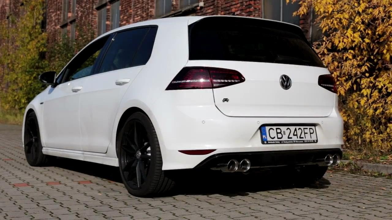vw golf 7 vii r armytrix downpipe cat back flap. Black Bedroom Furniture Sets. Home Design Ideas