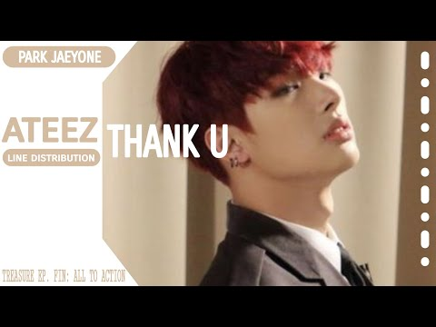 ATEEZ- THANK U [Line Distribution Color Coded] By Park Jaeyone