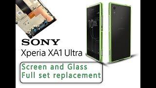 Sony Xperia XA1 Ultra (G3221) Screen & Digitizer Replacement / Pantalla de reemplazo Selekt