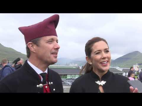 Kronprinsesse Mary og Frederik fortæller om dejlige dage på Færøerne