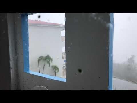 Intense Hurricane Irma Footage In St. Thomas