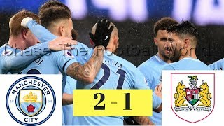 Manchester City vs Bristol City 2-1 Goals & Highlights || 9/1/ 2018 || ⚽⚽ - ⚽