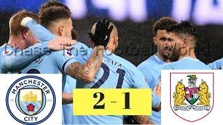 Manchester City vs Bristol City 2-1 Goals & Highlights || 9/1/ 2018 || ⚽⚽ - ⚽